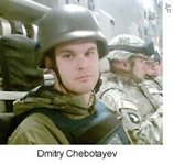 Russian photojournalist Dmitry Chebotayev was killed on May 7, 2007 when a roadside bomb struck the U.S. military vehicle in which he was traveling. Chebotayev was on assignment for Newsweek, reporting on American military operations in the Diyala province. Chebotayev was the first Russian journalist to be killed in Iraq since the 2003 U.S.-led invasion there. Six American soldiers in the vehicle were also killed.