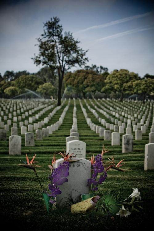 Zoriah Iraq Soldiers Grave Graveyard-1